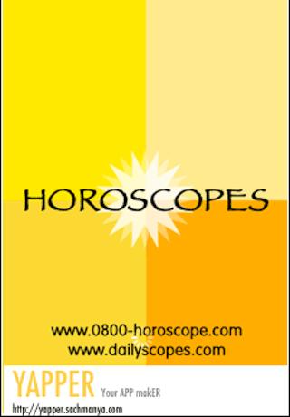 Weekly horoscope 0800